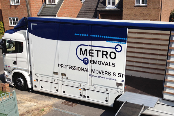 House Removals by Metro Removals