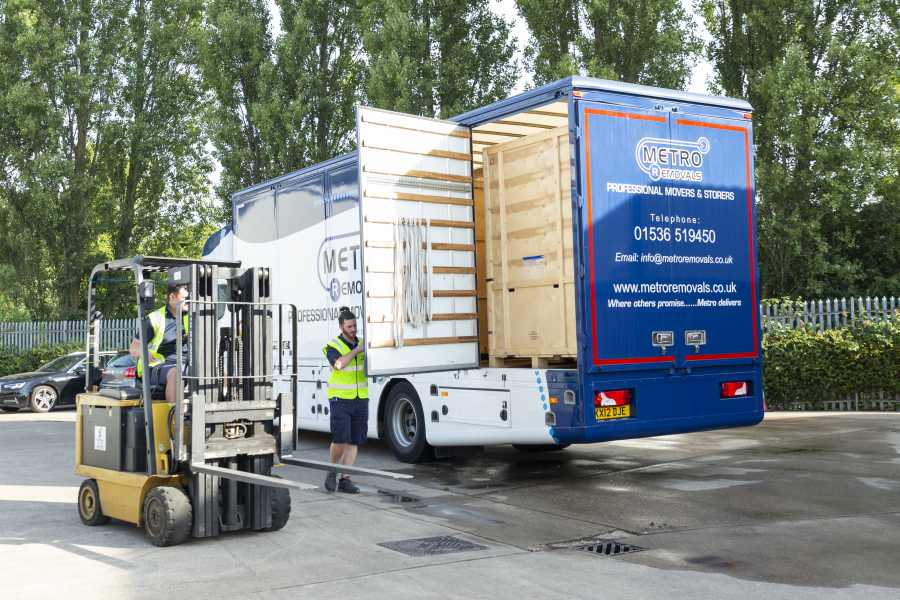 Storage services by Metro Removals