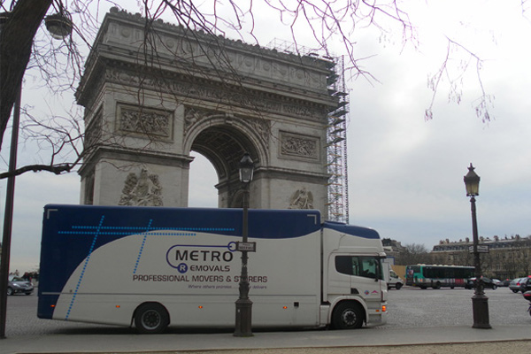 Metro Removals in Paris